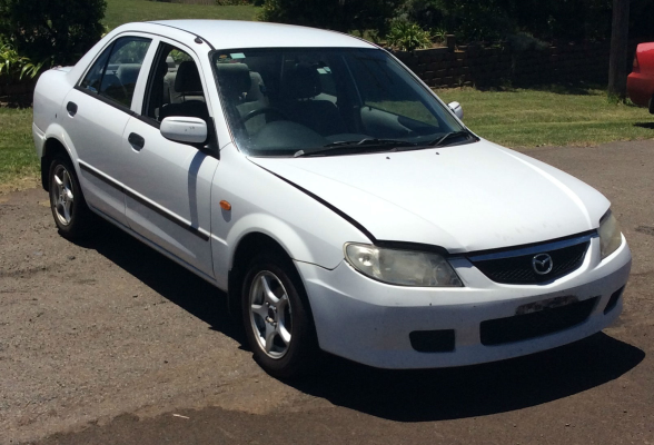 2001 MAZDA 323 BJ PROTEGE 5 SP MANUAL 1.6L MULTI POINT F/INJ ENGINE LONG