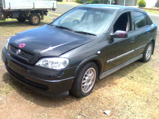 2000 HOLDEN ASTRA TS 4 SP AUTOMATIC 1.8L MULTI POINT F/INJ AIR BOX TUBING