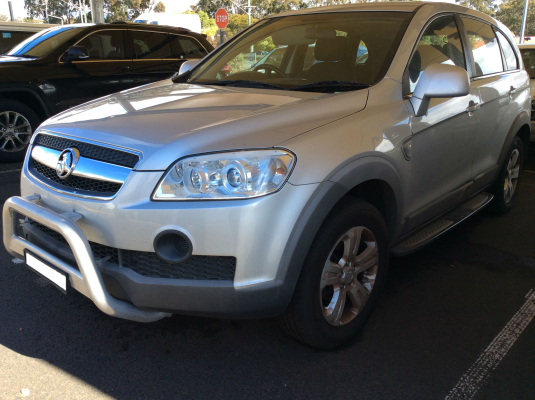2010 HOLDEN CAPTIVA CG MY10 SX (4x4) 5 SP AUTOMATIC 3.2L MULTI POINT F/INJ DOOR RR