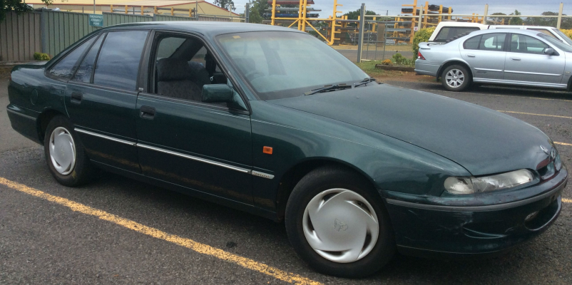 1994 HOLDEN COMMODORE VR ACCLAIM 4 SP AUTOMATIC 3.8L MULTI POINT F/INJ AIR CONDENSER