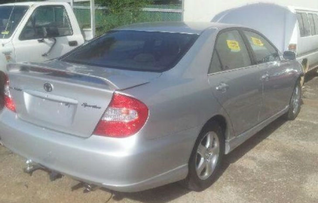 2004 TOYOTA CAMRY ACV36R SPORTIVO 4 SP AUTOMATIC 2.4L MULTI POINT F/INJ DOOR HANDLE INNER RR