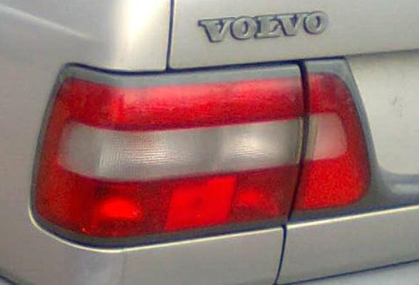 1996 VOLVO 8 50 S 4 SP AUTOMATIC 2.4L MULTI POINT F/INJ HEADLIGHT LEFT