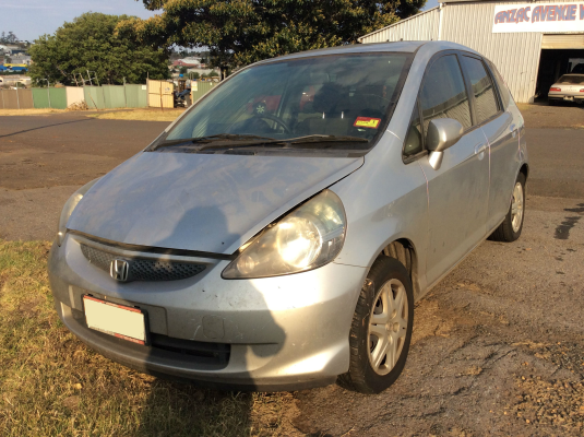 2006 HONDA JAZZ MY06 VTi CVT AUTO 7 SP SEQUENTIAL 1.5L MULTI POINT F/INJ COMPACT DISC PLAYER