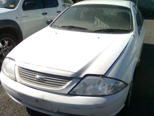 2000 FORD FALCON AUII FORTE 4 SP AUTOMATIC 4.0L MULTI POINT F/INJ AIR CONDENSER