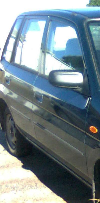 2001 MAZDA 121 DW Series METRO SHADES 5 SP MANUAL 1.3L ELECTRONIC F/INJ DOOR RR