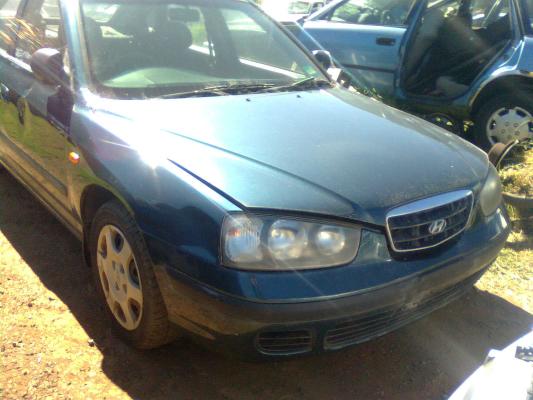 2001 Hyundai Elantra Xd Gl 4 Sp Automatic 18l Multi Point Finj