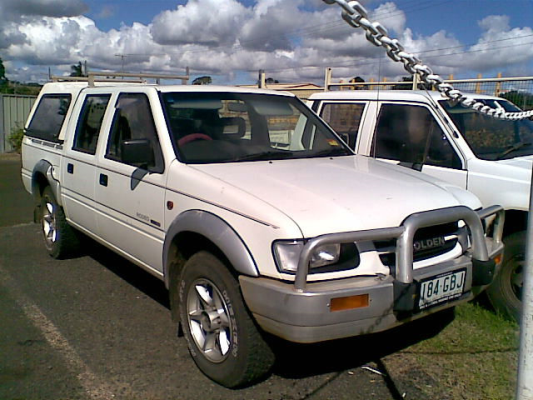 1999 HOLDEN RODEO TFR9 LS (4x4) 5 SP MANUAL 4x4 3.2L MULTI POINT F/INJ HANDBRAKE CABLE LEFT