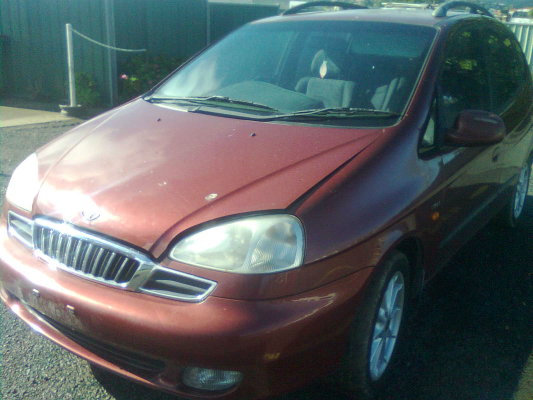 2000 DAEWOO TACUMA 5 SP MANUAL 2.0L MULTI POINT F/INJ PWR STEER RACK