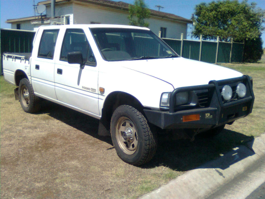 1996 HOLDEN RODEO TFG6 LX (4x4) 5 SP MANUAL 4x4 2.6L MULTI POINT F/INJ TAILSHAFT ONE PIECE