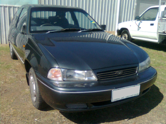1996 DAEWOO CIELO 5 SP MANUAL 1.5L MULTI POINT F/INJ TAILGATE