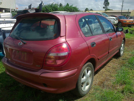 2001 NISSAN PULSAR N16 5 SP MANUAL 1.8L MULTI POINT F/INJ COMPACT DISC PLAYER