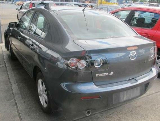 2008 MAZDA MAZDA3 BK MY06 UPGRADE NEO 5 SP MANUAL 2.0L MULTI POINT F/INJ BAR COVER REAR