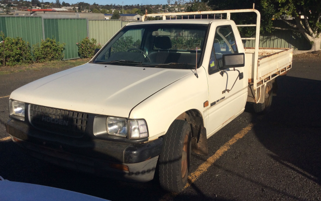 1994 HOLDEN RODEO TFG1 DLX 5 SP MANUAL 2.6L MULTI POINT F/INJ TRANSMISSION/GEARBOX