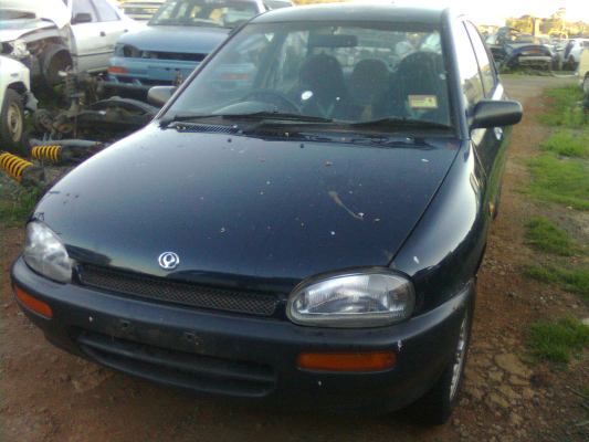 1995 MAZDA 121 DB Series 5 SP MANUAL 1.3L SINGLE POINT F/INJ DOOR LF