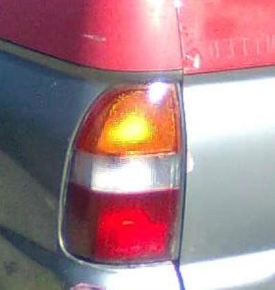 1997 MITSUBISHI TRITON MK GLX 5 SP MANUAL 2.4L MULTI POINT F/INJ TAIL LIGHT LEFT