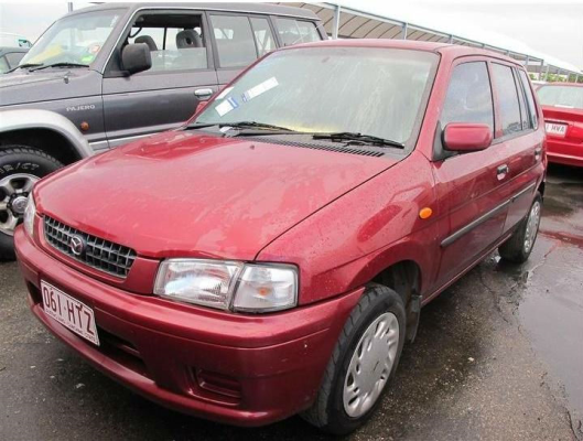 1998 MAZDA 121 DW Series METRO SHADES 4 SP AUTOMATIC 1.5L ELECTRONIC F/INJ TRANSMISSION/GEARBOX