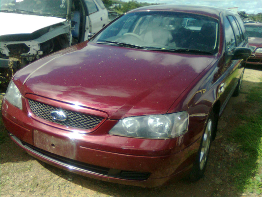 2003 FORD FALCON BA XT 4 SP AUTO SEQ SPORTS 4.0L MULTI POINT F/INJ DOOR RR