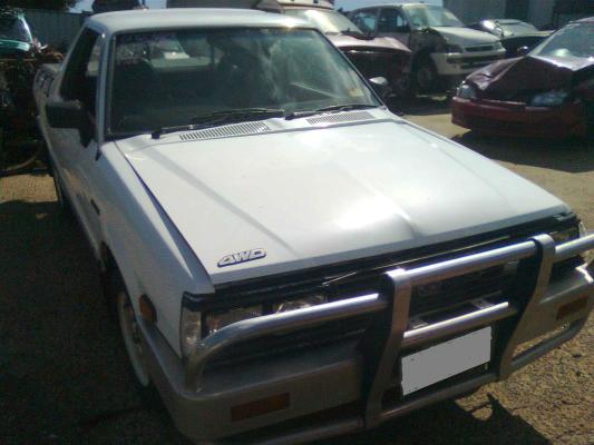 1992 SUBARU BRUMBY (4x4) 4 SP MANUAL 4X4 1.8L CARB CARBURETTOR (1)