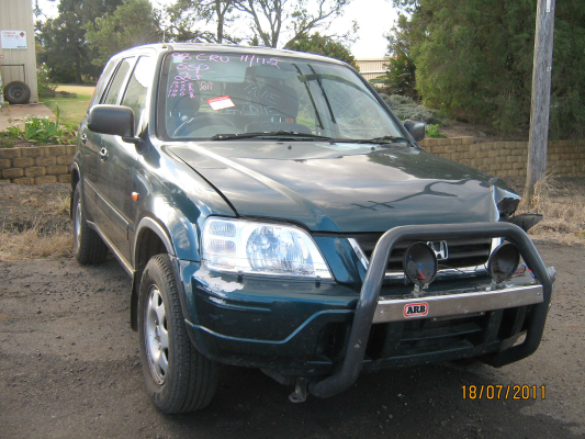1998 HONDA CRV (4x4) 5 SP MANUAL 4x4 2.0L MULTI POINT F/INJ TAILGATE