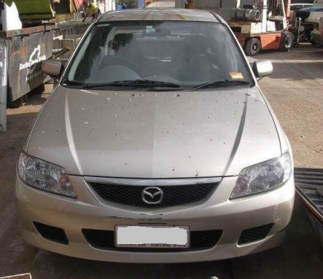 2002 MAZDA 323 BJ PROTEGE 5 SP MANUAL 1.8L MULTI POINT F/INJ TRANSMISSION/GEARBOX