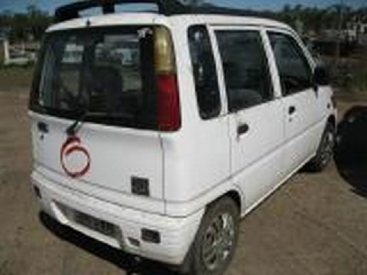 1997 DAIHATSU MOVE L601 5 SP MANUAL 0 8L ELECTRONIC F/INJ  TRANSMISSION/GEARBOX