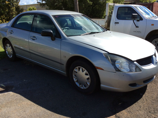 2003 MITSUBISHI MAGNA TL ES 4 SP AUTO SPORTS MODE 3.5L MULTI POINT F/INJ AXLE BEAM REAR