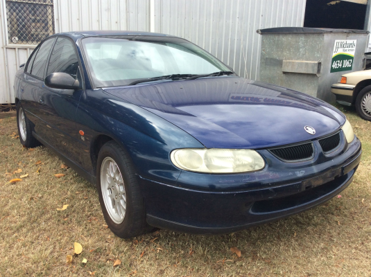 1998 HOLDEN COMMODORE VT EXECUTIVE 4 SP AUTOMATIC 3.8L MULTI POINT F/INJ WIPER MOTOR FRONT