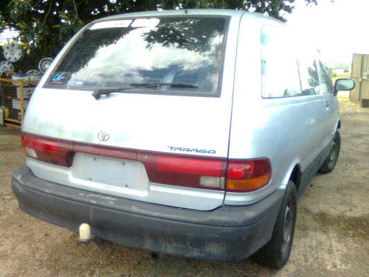 1991 TOYOTA TARAGO TCR10R GLi 5 SP MANUAL 24L MULTI POINT F INJ TAILGATE LOCK