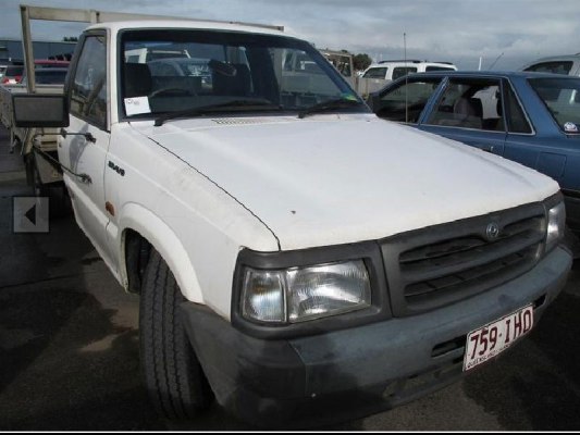 1997 MAZDA B2600 BRAVO 5 SP MANUAL 2.6L ELECTRONIC F/INJ AIR CONDITIONER CONVERSION