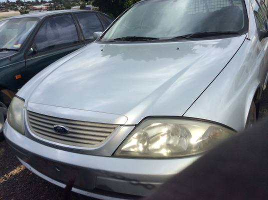 2002 FORD FALCON AUIII FORTE 4 SP AUTOMATIC 4.0L MULTI POINT F/INJ DOOR GLASS LR