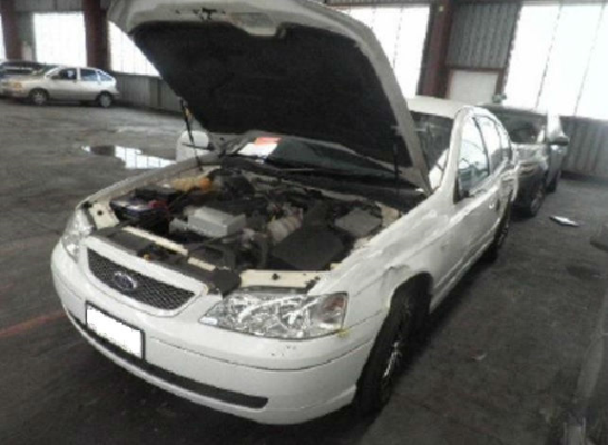 2002 FORD FALCON BA FUTURA 4 SP AUTO SEQ SPORTS 4.0L MULTI POINT F/INJ ENGINE COMPUTER (ECU)