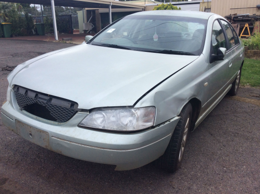 2003 FORD FALCON BA FUTURA 4 SP AUTO SEQ SPORTS 4.0L MULTI POINT F/INJ DOOR RR