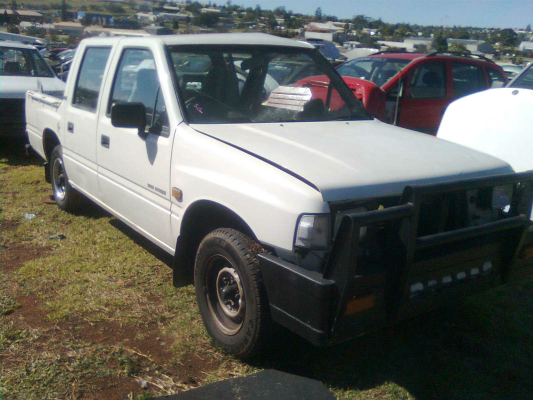 1993 HOLDEN RODEO TFG1 4 SP AUTOMATIC 2.6L MULTI POINT F/INJ TRANSMISSION/GEARBOX