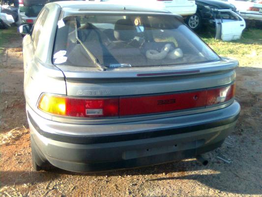 1993 MAZDA 323 BG Series ASTINA 4 SP AUTOMATIC 1.8L MULTI POINT F/INJ TAILGATE