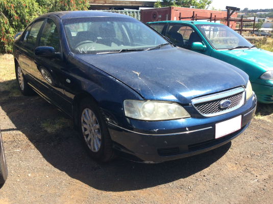 2002 FORD FAIRMONT BA GHIA 4 SP AUTO SEQ SPORTS 4.0L MULTI POINT F/INJ DOOR 1/4 GLASS LR