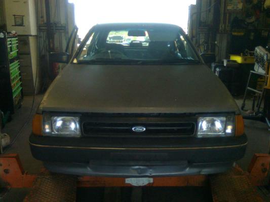 1987 FORD LASER KC GL 5 SP MANUAL 1.6L CARB TAILGATE