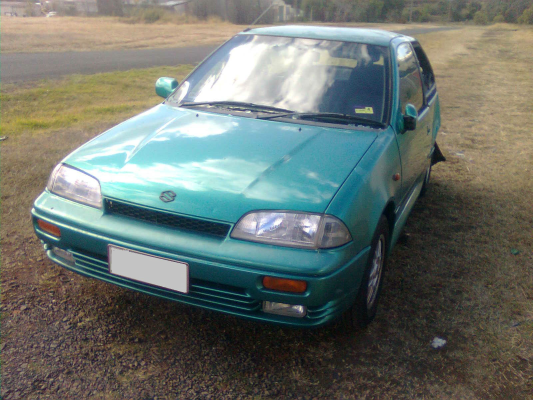 1998 SUZUKI SWIFT CINO XTREME 5 SP MANUAL 1.3L CARB WHEEL (ALLOY/MAG) SET