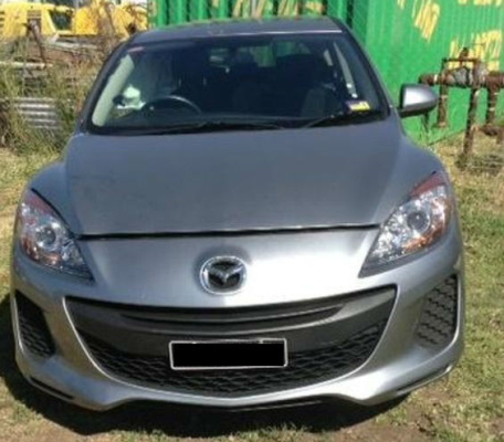 2012 MAZDA MAZDA3 BL 11 UPGRADE NEO 5 SP AUTOMATIC 2.0L MULTI POINT F/INJ BAR COVER REAR