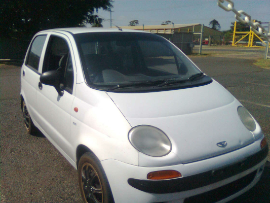 2001 DAEWOO MATIZ 5 SP MANUAL 0.8L MULTI POINT F/INJ ENGINE LONG