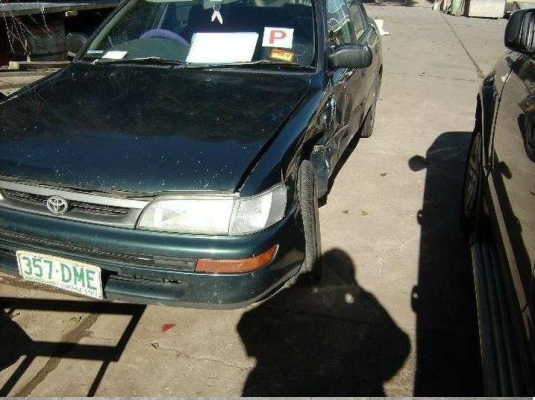 1996 TOYOTA COROLLA AE102X CONQUEST 4 SP AUTOMATIC 1.8L ELECTRONIC F/INJ FUEL FLAP