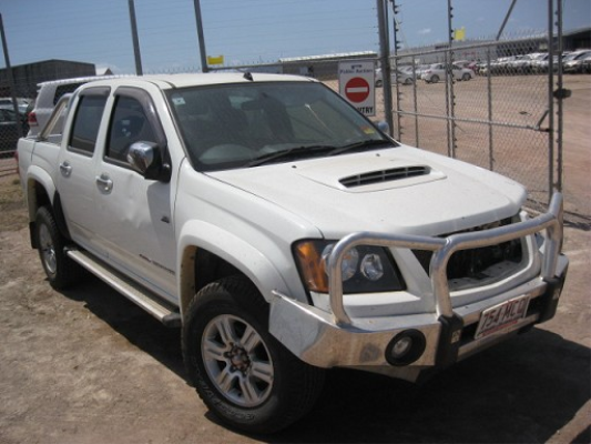 2010 HOLDEN COLORADO RC MY10 5 SP MANUAL 3.0L DIESEL TURBO F/INJ DOOR RR