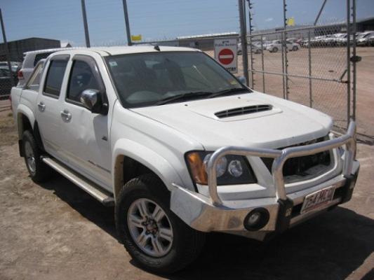 2010 HOLDEN COLORADO RC MY10 5 SP MANUAL 3.0L DIESEL TURBO F/INJ TAIL LIGHT RIGHT