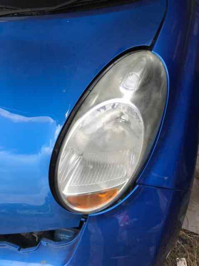 2010 NISSAN MICRA K12 CITY COLLECTION 4 SP AUTOMATIC 1.4L MULTI POINT F/INJ HEADLIGHT LEFT