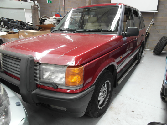 1996 RANGE ROVER RANGE ROVER HSE 4 SP AUTOMATIC 4.6L MULTI POINT F/INJ BAR FRONT COMPLETE