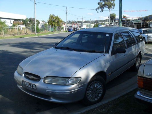 1998 FORD FALCON EL GLi SAPPHIRE 4 SP AUTOMATIC 4.0L MULTI POINT F/INJ WIPER LINKAGES