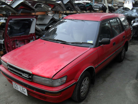 1988 TOYOTA COROLLA AE95 SR5 (4x4) 4 SP AUTOMATIC 1.6L ELECTRONIC F/INJ ENGINE LONG
