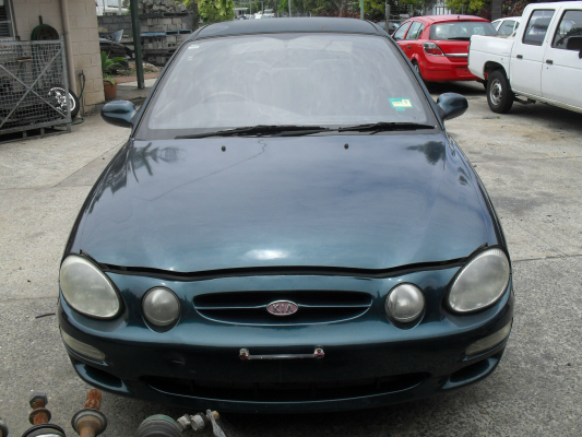 1999 KIA MENTOR GLX 5 SP MANUAL 1.8L MULTI POINT F/INJ BONNET