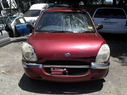 1998 DAIHATSU SIRION 4 SP AUTOMATIC 1.0L ELECTRONIC F/INJ TAIL LIGHT LEFT