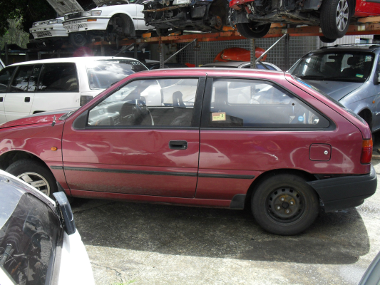 1994 HYUNDAI EXCEL SPRINT 4 SP MANUAL 1.5L ELECTRONIC F/INJ TAILGATE