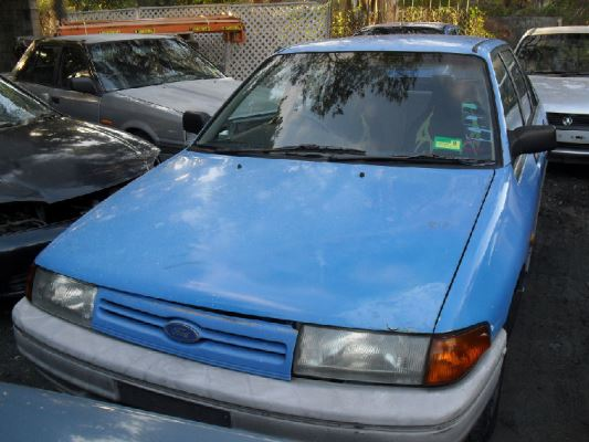 1991 FORD LASER KF GL 5 SP MANUAL 1.6L CARB ENGINE LONG
